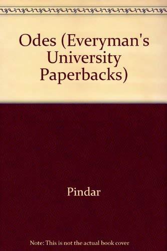 9780460010177: Odes (Everyman's University Paperbacks)