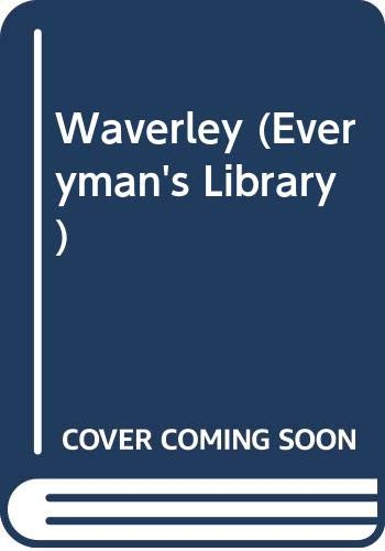 9780460010757: Waverley (Everyman's Library)