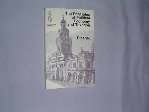 The Principles of Political Economy (Everyman Paperbacks)