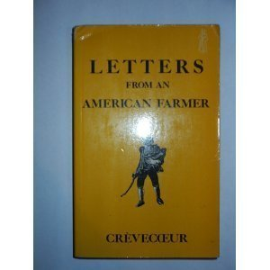 9780460016407: Letters from an American Farmer (Everyman Paperbacks)