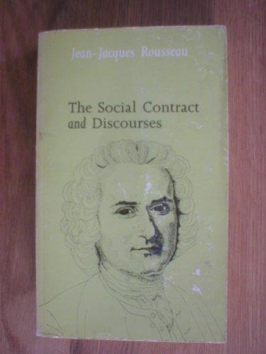 The Social Contract (Everyman Paperbacks): Rousseau, Jean-Jacques