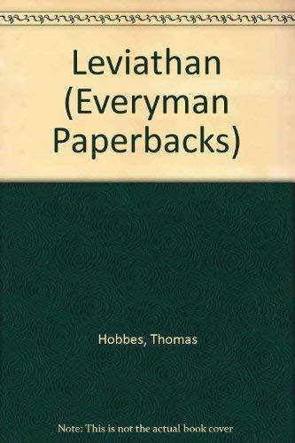 Leviathan (Everyman's Library): Thomas Hobbes