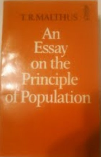 9780460016926: An Essay on the Principle of Population (Everyman Paperbacks)