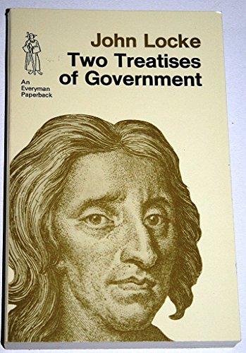 9780460017510: Two Treatises on Civil Government (Everyman Paperbacks)