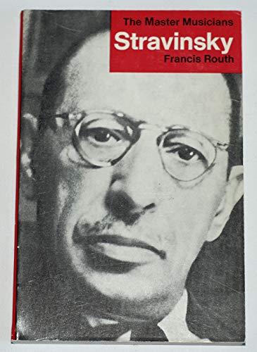 9780460021722: Stravinsky (Master Musician)
