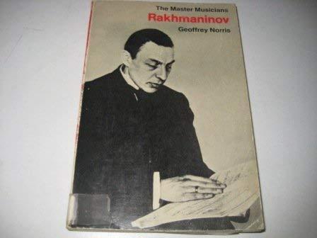 9780460021753: Rachmaninoff (Master Musician)