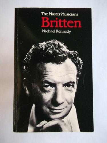 9780460022019: Britten (Master Musician)