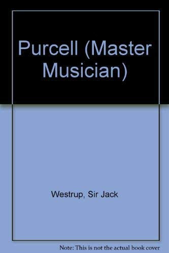 9780460022095: Purcell (Master Musician)