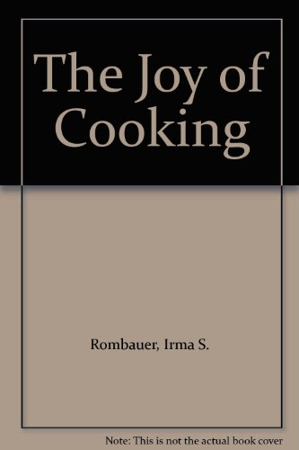 9780460022132: The Joy of Cooking