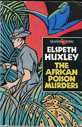 9780460024112: African Poison Murders (Mastercrime)