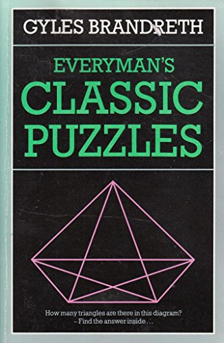 9780460024662: Everyman's Classic Puzzles