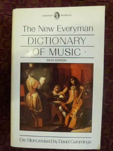 9780460029049: The New Everyman Dictionary of Music