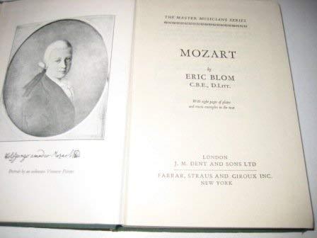 9780460031011: Mozart (Master Musician)