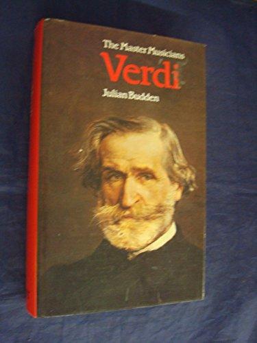 9780460031653: Verdi (Master Musicians Series)