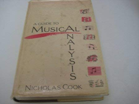 9780460031882: A Guide to Musical Analysis