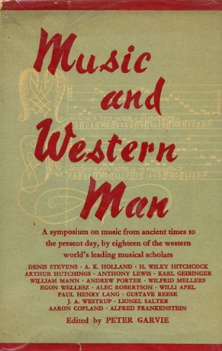9780460035002: Music and Western Man