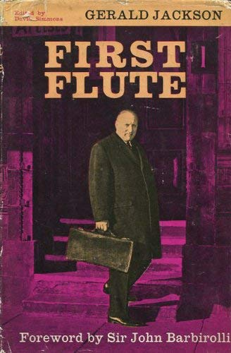 9780460038102: First flute