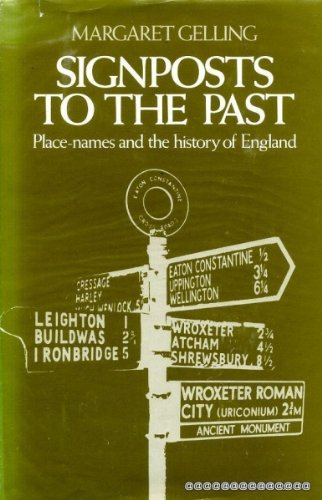 9780460042642: Signposts to the Past: Place Names and the History of England