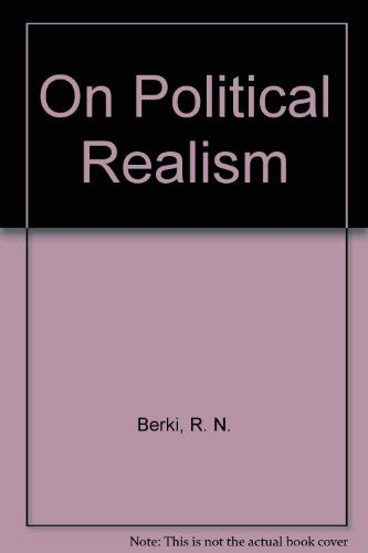 9780460043670: On Political Realism