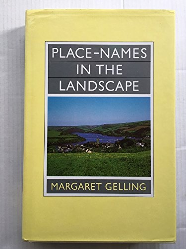 9780460043809: Place-names in the Landscape