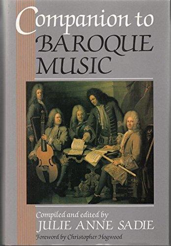9780460046022: Companion to Baroque Music