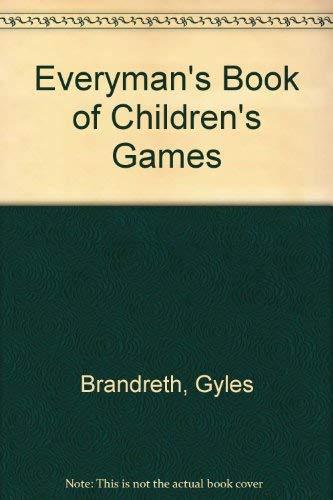 9780460046169: Everyman's Book of Children's Games