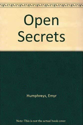 9780460047593: Open Secrets