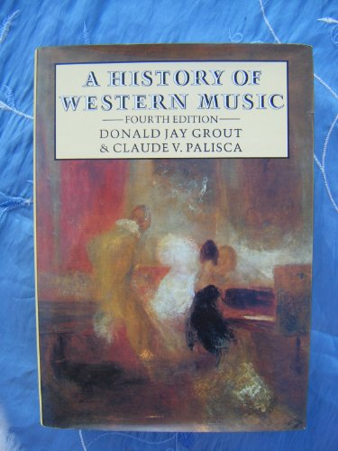 9780460047708: A History of Western Music