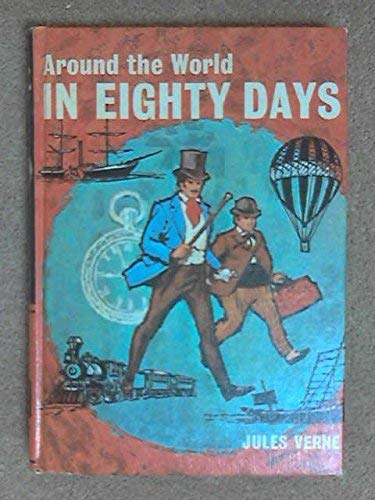 9780460050821: Around the World in Eighty Days (Children's Illustrated Classics) (English and French Edition)