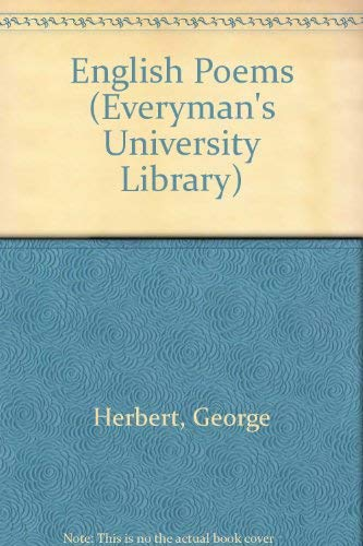 English Poems (Everyman's University Library): George Herbert and C.A. Patrides
