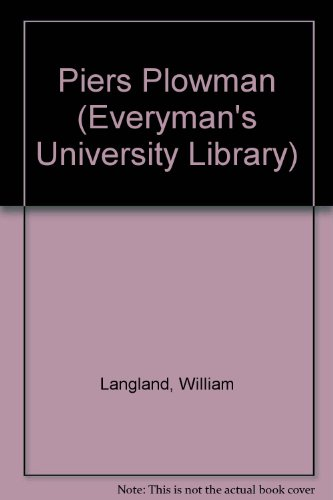 The Vision of Piers Plowman (Everyman's University Library) (046010571X) by Langland, William