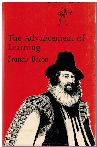 Advancement of Learning (Everyman's University Library): Francis Bacon