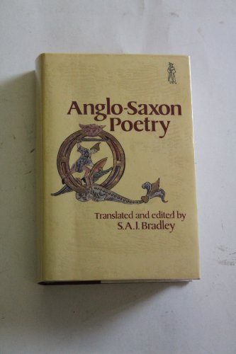 9780460107945: Anglo-Saxon Poetry (Everyman's Library)