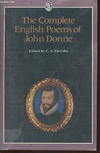 9780460110914: The Complete English Poems of John Donne (Everyman Classics)