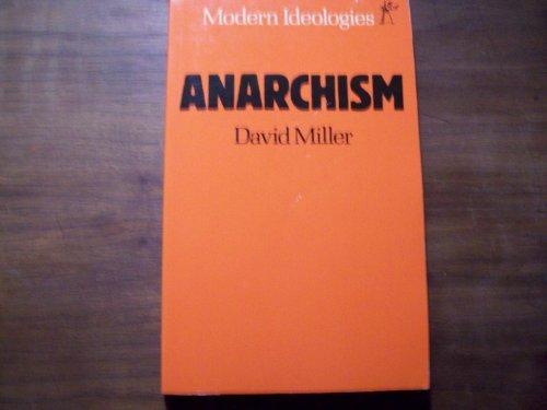 9780460110938: Anarchism (Modern Ideologies Series)