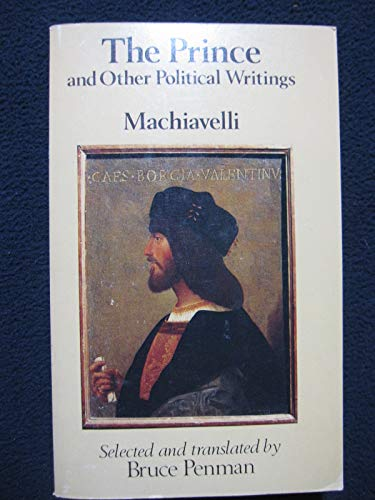 9780460112802: Prince and Other Political Writings (Everyman Paperbacks)