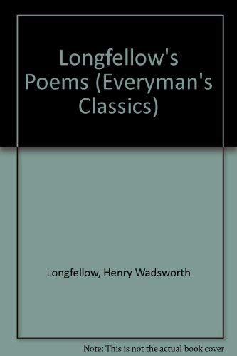 9780460113823: Longfellow's Poems (Everyman's Classics)