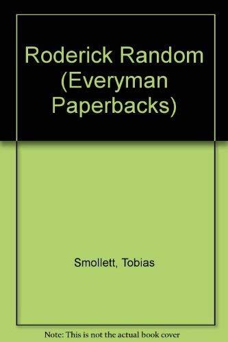 9780460117906: Roderick Random (Everyman Paperbacks)