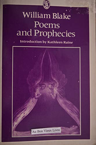 9780460117920: Poems and Prophecies
