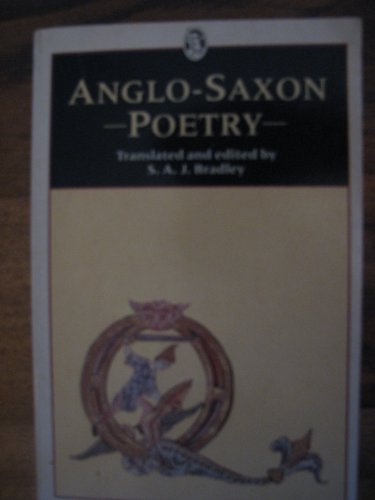 9780460117944: Anglo-saxon Poetry