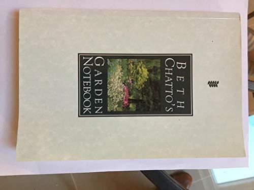 9780460860956: Beth Chatto's Garden Notebook