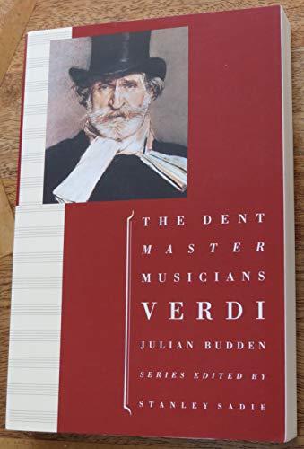 9780460861113: Verdi (Master Musician)