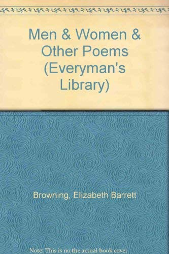 9780460870603: Men & Women & Other Poems (Everyman's Library)
