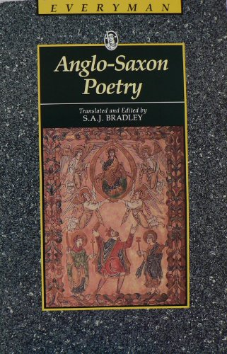 9780460870863: Anglo-Saxon Poetry (Everyman's Library (Paper))