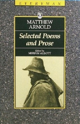 9780460870924: Selected Poems Prose/arno (Everyman's Library)