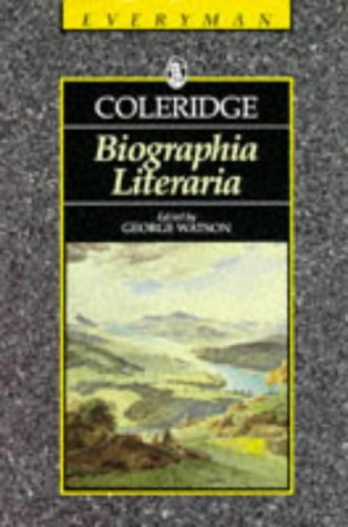 9780460871082: Biographia Literaria (Everyman's Library (Paper))
