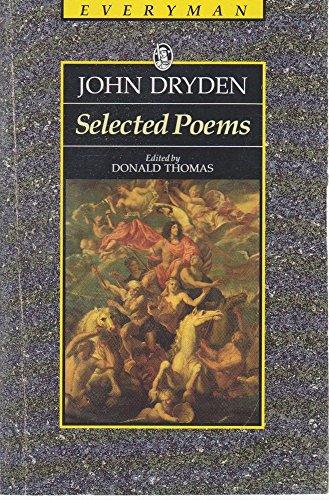 Dryden: Selected Poems (Everyman): Dryden, John