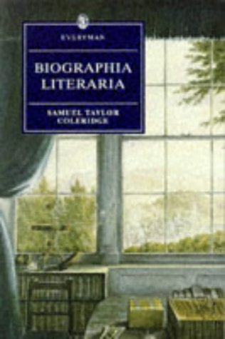 9780460873321: Biographia Literaria (Everyman's Library)