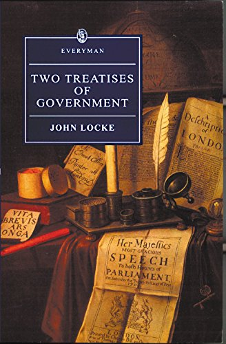 9780460873567: Two Treatises of Government (Everyman)
