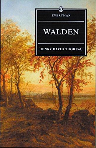 9780460876353: Walden With Ralph Waldo Emerson's Essay on Thoreau (Everyman's Library)